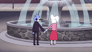 S5E37.105 Mordecai and CJ Making a Wish at the Fountain