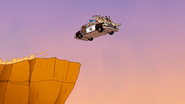S6E15.241 The Turtles Driving Off the Cliff