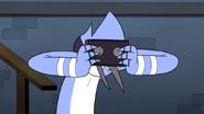 S6E01.153 Mordecai Headbutts the Tape