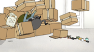 S4E30.007 Muscle Man Falling on the Boxes