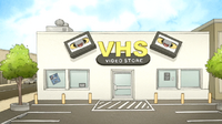S7E20.069 VHS Video Store