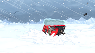 S4E26.178 The Snow Vehicle Flipping Over
