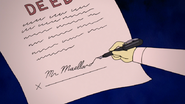 S5E08.160 Mr. Maellard Signing the Deed