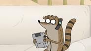 S7E01.006 Rigby Calling Mordecai