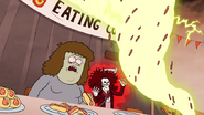 S4E34.144 Muscle Man Witnessing the Hot Dog Tornado