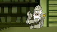 S6E19.140 Eggscellent Knight Showing the Relic Policy