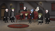 S8E19.237 Everyone Hearing Trick-or-Treaters