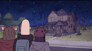S7E09.314 The Jerk Teenagers Seeing Mordecai and Rigby with the Candy