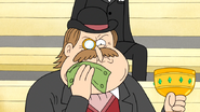 S4E21.112 Rich Man Wiping His Face with Cash