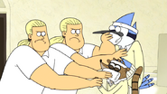 S4E31.060 Swedish Security Guards Drugging Mordecai and Rigby