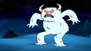 S8E23.072 Scary Snow Monster