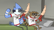 S8E12.005 The Duo are Fist Pumped for the Concert