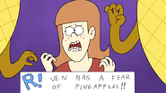 S7E17.037 Ven has a fear of pineapples!!