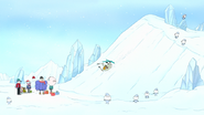 S8E23.063 Muscle Man Tumbling Down the Slope