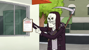 S4E34.088 Death Showing Muscle Man the Sign Up Sheet