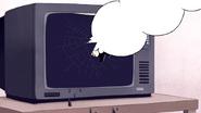 S7E11.234 Skips Punching the TV