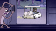 S6E08.228 Rigby Opening the Van Door