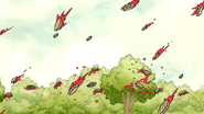 S3E35.187 Pies Landing on the Trees