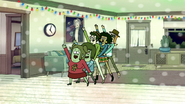 S6E10.126 Muscle Man and Starla in a Conga Line