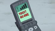 S8E01.271 Trust No One Message