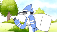 S7E05.031 Mordecai Carrying His Stuff