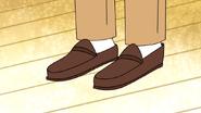 S4E17.157 Gregg's Shoes
