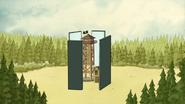 S3E35.259 Classic Mirror Prank on Gene's Watchtower