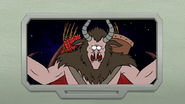 S8E23.440 Krampus on the Monitor