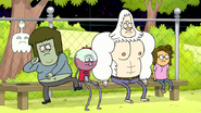 S8E24.026 Muscle Man Going to Throw a Rock