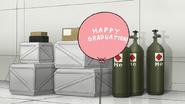 S8E15.119 Happy Graduation Balloon