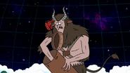 S8E23.488 Krampus Shoving HFG into His Basket