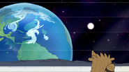S7E36.448 Rigby Staring at the Earth