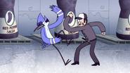 S4E36.187 Security Guard Punching Mordecai