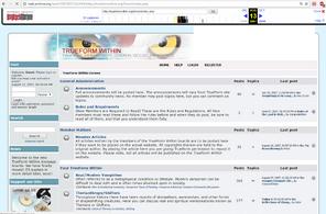 TrueFormWithin Forum