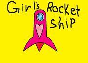 Girls Rocket Ship