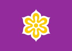 Flag of Kyoto Prefecture svg