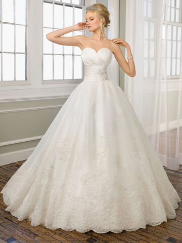 File:Vintage Ball Gown Lace Ruched Applique Wedding Dress-1 copy.jpg