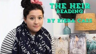 Kiera Cass Reads From The Heir The Selection Series
