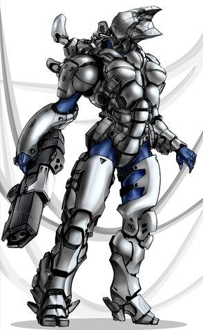File:Power armor full by polarlex.jpg