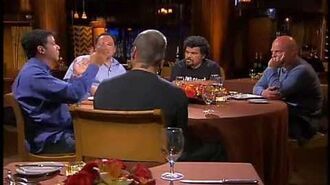 Dinner For Five S04E04 - Henry Rollins, Michael Chiklis, Michael De Luca, Luis Guzman