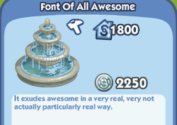 Font of all awesome