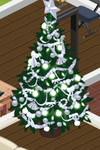 Silver Decorated Tree 7