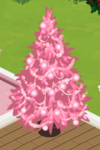 Pink Decorated Tree 2