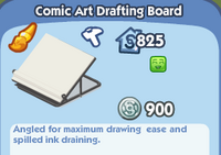 Comic Art Drafting Board