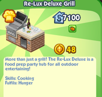 Re-Lux Deluxe Grill