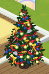 Red Decorated Tree 6