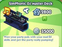 SimPhonic DJ Master Deck