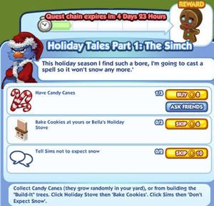 Holiday Tales pt 1 the simch