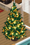 Gold Decorated Tree 3