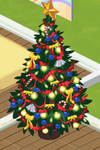 Red Decorated Tree 7